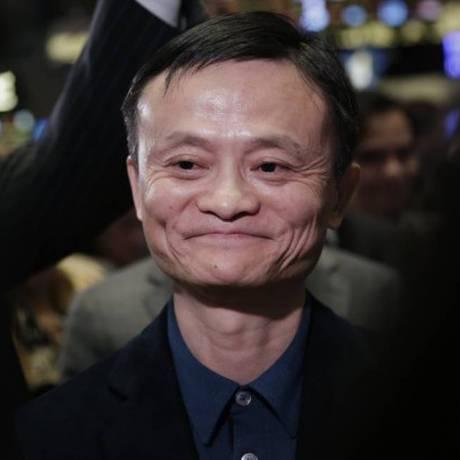 Jack Ma, do Alibaba, é um dos bilionários asiáticos, com fortuna estimada em mais de US$ 28 bilhões Foto: Scott Eells / Bloomberg