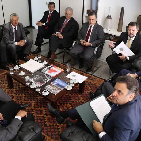 Membros da oposição articularam ofensiva contra Dilma Foto: Ailton de Freitas / Agência O Globo