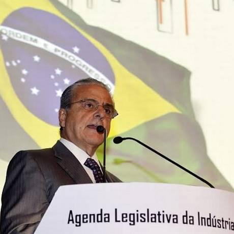 Presidente da CNI, Robson Braga de Andrade Foto: Divulgação/ CNI 24.03.2015