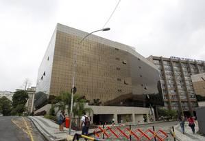 Fachada do Tribunal de Justiça do Rio: servidores terão direito a bolsa-educação de até R$ 2,8 mil Foto: Gabriel de Paiva / Agência O Globo (11/01/2013)