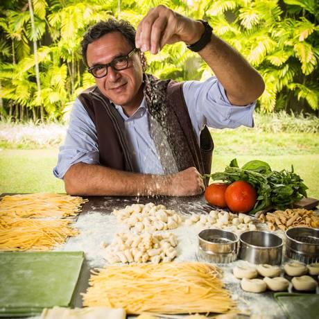 Gero, de Rogério Fasano, conquista pelo segundo ano consecutivo as categorias Melhor Restaurante e Italiano Foto: Bárbara Lopez / Agência O Globo