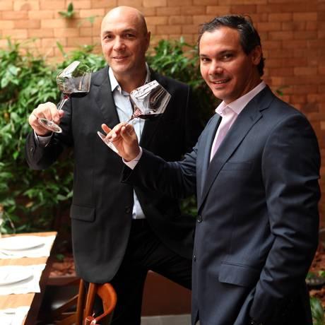 Proprietários. Nicola Giorgio (esquerda) e Dionísio Chaves Foto: Agência O Globo / Angelo Antônio Duarte