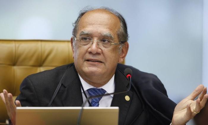 Ministro do Supremo Gilmar Mendes Foto: Nelson Jr. / STF