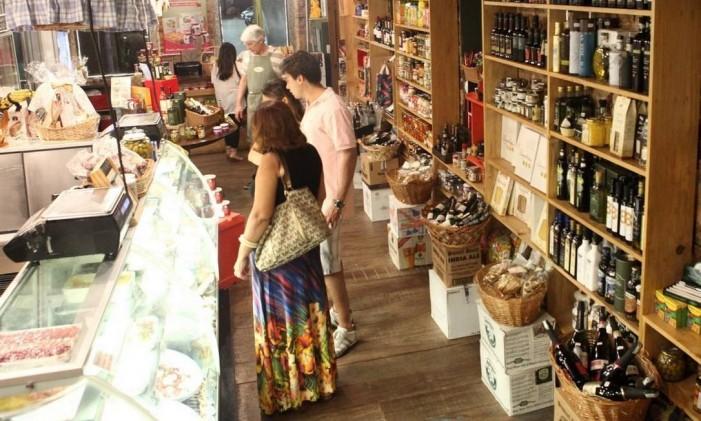 Na Casa Carandaí, padaria, rotisseria e café dividem espaço no térreo Foto: Angelo Antônio Duarte/Agência O Globo