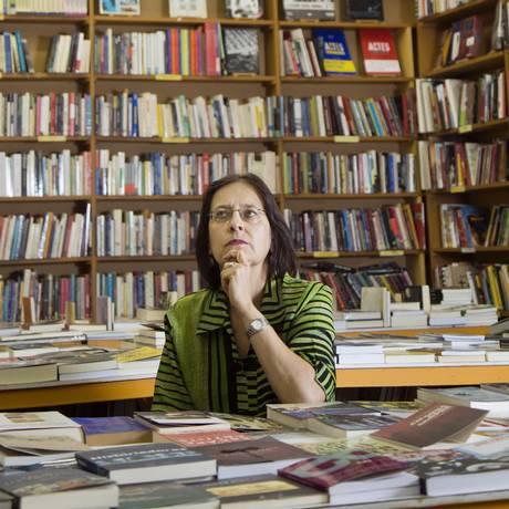 """Milena Duchiade, herdeira da livraria: """"nosso modelo de negócio é inviável"""" Foto: Ana Branco"""
