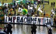 Movimento Brasil Livre protesta na frente do Congresso Nacional