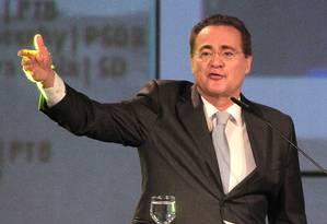 Renan diz que Senado rediscutirá todos os pontos do 'distritão' Foto: Terceiro / Agência O Globo