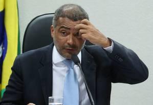 O senador Romário Foto: Terceiro / Agência O Globo