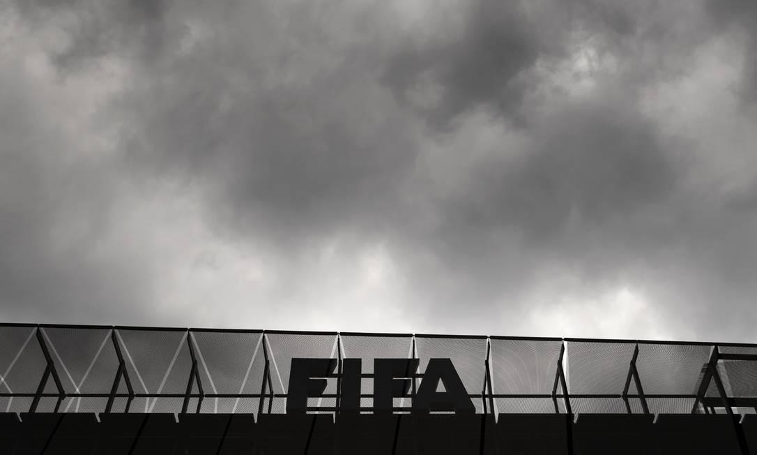 Corrupção do futebol mundial põe na prisão sete dirigentes da Fifa, entre eles José Maria Marin, ex-presidente da CBF FABRICE COFFRINI / AFP
