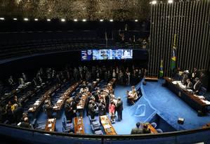 MP 664 foi aprovada no Senado Foto: Ailton de Freitas / Agência O Globo