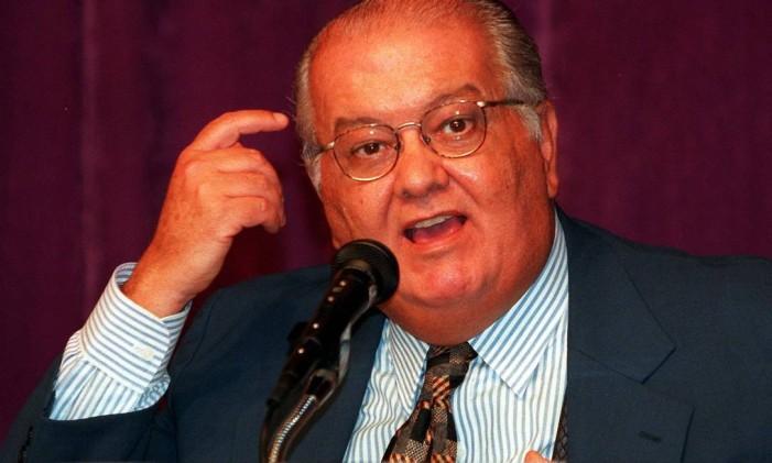 O ex-ministro da Comunicação Sérgio Motta Foto: Givaldo Barbosa / Arquivo O Globo 28/01/1998
