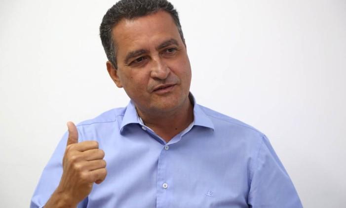 O governador da Bahia, Rui Costa Foto: Mateus Pereira / Agência O Globo