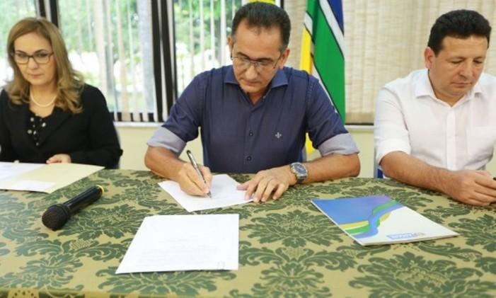 O governador do Amapá, Waldez Goes Foto: Divulgação