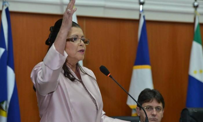 A governadora de Roraima, Suely Campos Foto: Divulgação