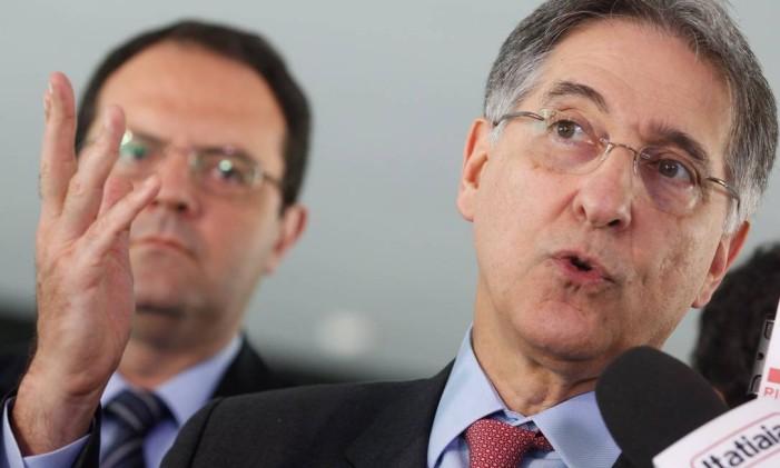 O governador de Minas Gerais, Fernando Pimentel Foto: André Coelho / Agência O Globo