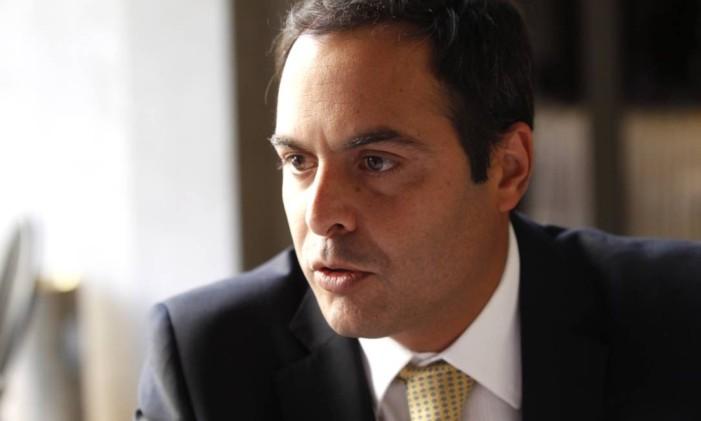 O governador de Pernambuco, Paulo Câmara Foto: Jorge William / Agência O Globo