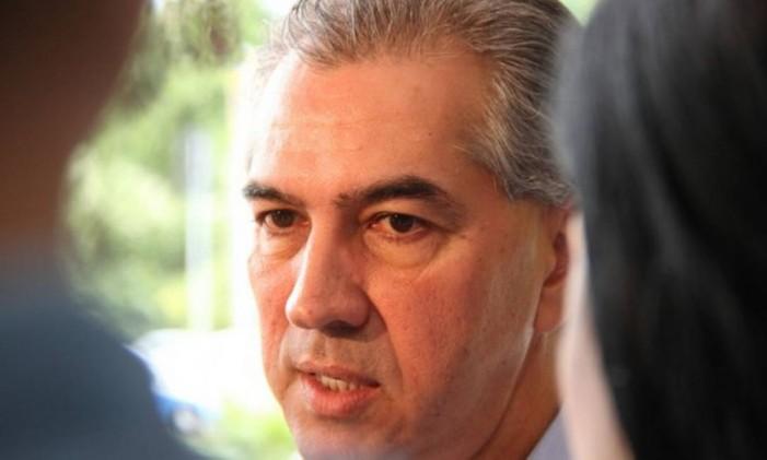 Governador do Mato Grosso do Sul, Reinaldo Azambuja Foto: Divulgação