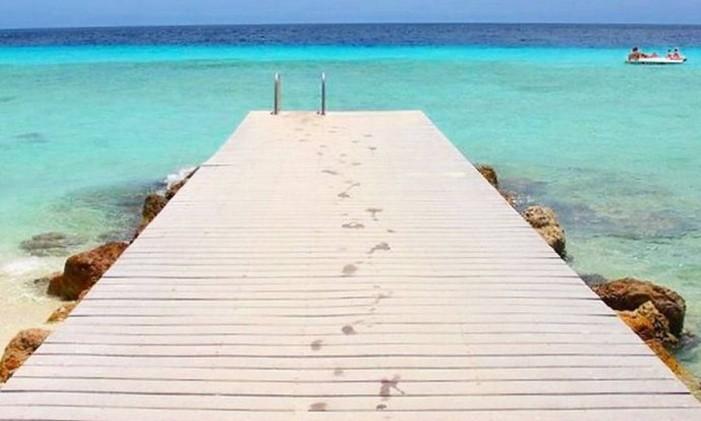 Curacao, no Caribe Foto: @thiago.lopez / Instagram