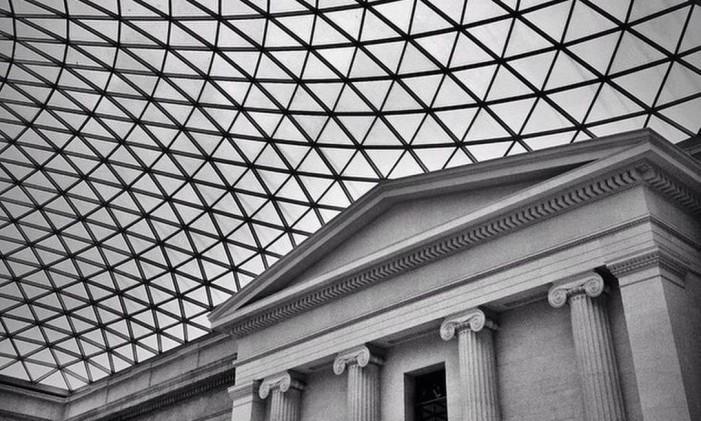 Museu britânico, em Londres Foto: @juliaestrellaphotography / Instagram
