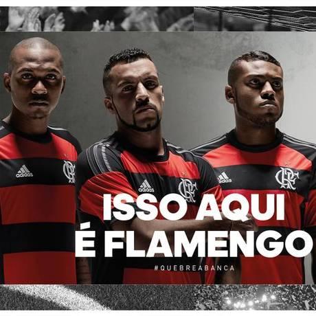 Camisa nova do Flamengo Foto: Reprodução Twitter