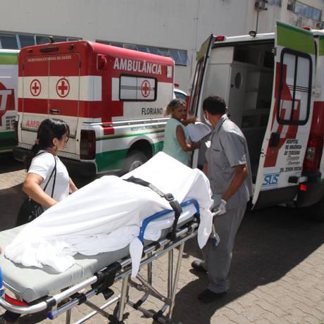 Uma das jovens estupradas no interior do Piauí é transferida de hospital Foto: Efrém Ribeiro