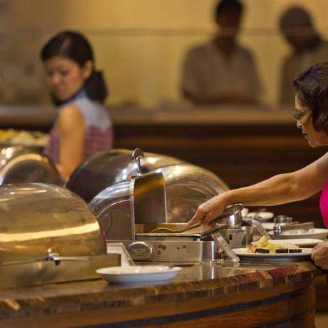 Variedade de opções e a o sabor do Porcão Gourmet conquistaram a preferência dos jurados Foto: Agência O Globo / Guilherme Leporace