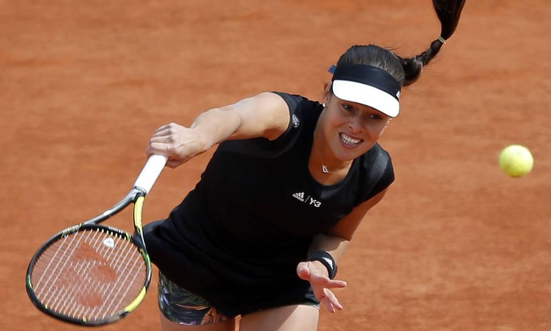 Campeã em 2008, a sérvia Ana Ivanovic também avançou às oitavas Francois Mori / AP