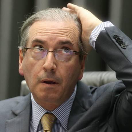 O presidente da Câmara dos Deputados, Eduardo Cunha Foto: Andre Coelho / Agência O Globo