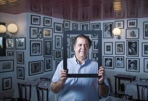 """O empresário mineiro Omar Peres vem comprando símbolos do Rio, como a Fiorentina, a """"Casa de pedra'' da Av. Atlântica, a Boulangerie Guerin, e, mais recentemente, o Bar Lagoa Foto: Leo Martins / Agência O Globo"""