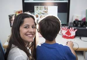 Anamaria Mendes parou de publicar com frequência informações sobre seu filho Lucas, a pedido do próprio Foto: Leo Martins / Agência O Globo