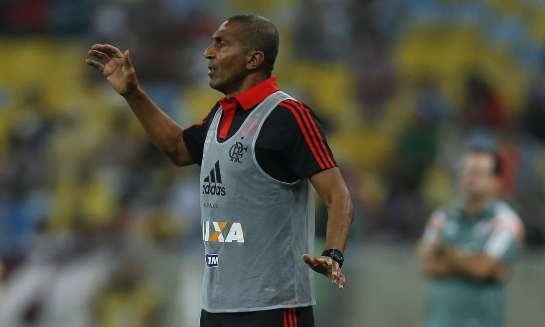Ex-Flu, técnico Cristóvão Borges estreou neste domingo no Flamengo Alexandre Cassiano / Agência O Globo