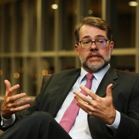 O presidente do Tribunal Superior Eleitoral (TSE), ministro Dias Toffoli Foto: Ailton de Freitas / Agência O Globo