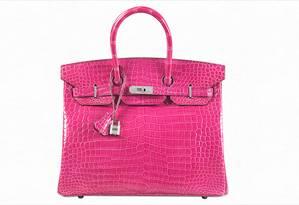 Bolsa Hermès vendida por US$ 222 mil em Hong Kong Foto: Divulgação