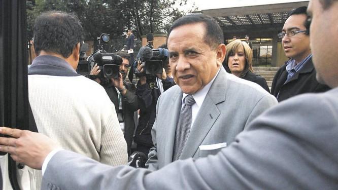 Miguel Maza negou qualquer influência de agentes de Pablo Escobar Foto: El Tiempo/GDA