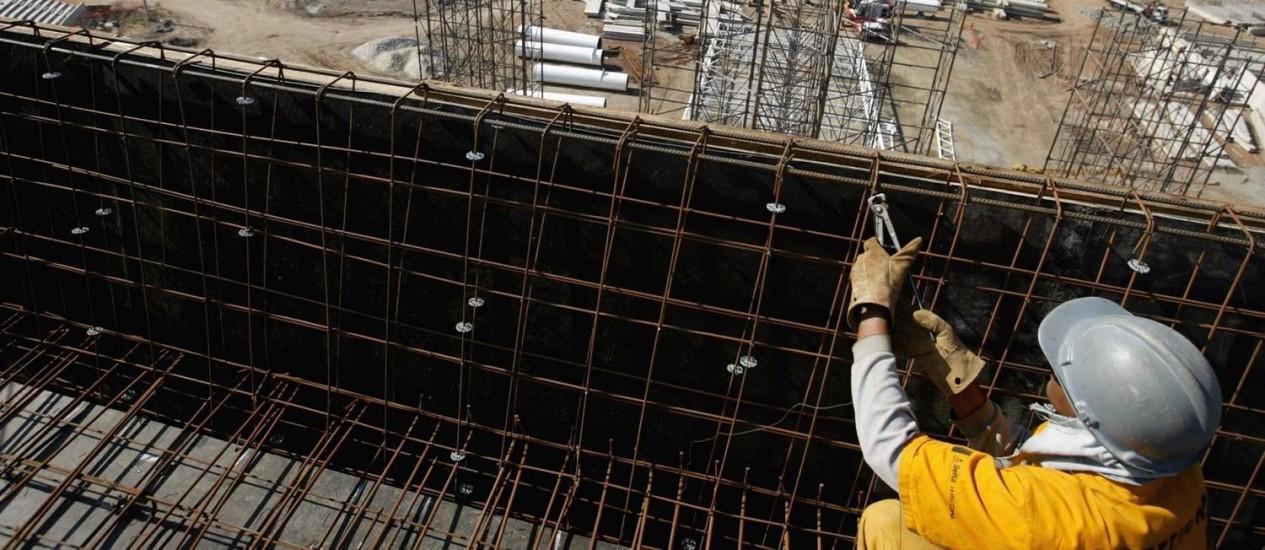 Meteórico. Empresa que completa 50 anos em dois meses cresceu rapidamente e assumiu grandes obras, sobretudo no Rio, onde construiu o Engenhão para o Pan de 2007 Foto: Márcia Foletto / Márcia Foletto/05-07-2006