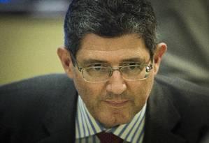 O ministro da Fazenda, Joaquim Levy, em evento da Firjan Foto: Guito Moreto / O Globo