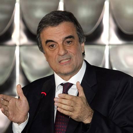 O Ministro da Justiça, José Eduardo Cardozo. Foto: Givaldo Barbosa / Arquivo O Globo 05/03/2015