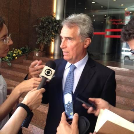 Giuseppe Alvenzio, representante do Ministério da Justiça Foto: Agência O Globo / Daniel Biasetto