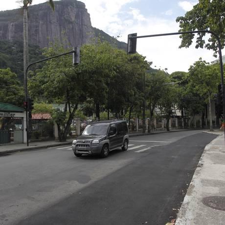 Duplicação da pista em frente a Hípica Foto: Agência O Globo / Pedro Teixeira