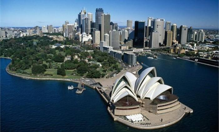 Sidney, na Austrália Foto: Divulgação