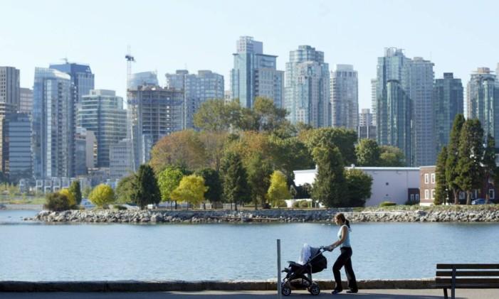 Stanley Park, em Vancouver, no Canadá. Foto: Márcia Foletto / Agência O Globo