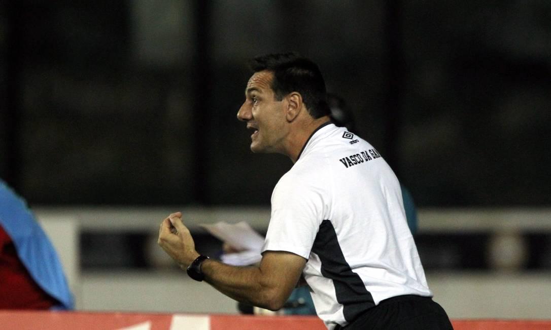 O técnico do Vasco, Doriva, em foto de arquivo Cezar Loureiro / Agência O Globo