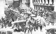 Pânico. Americanos correm para vender suas ações na chamada Quinta-Feira Negra, em 24 de outubro de 1929, na Bolsa de Nova York