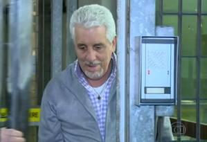 Pizzolato será levado da Itália para o Brasil Foto: TV GLOBO / REPRODUÇÃO