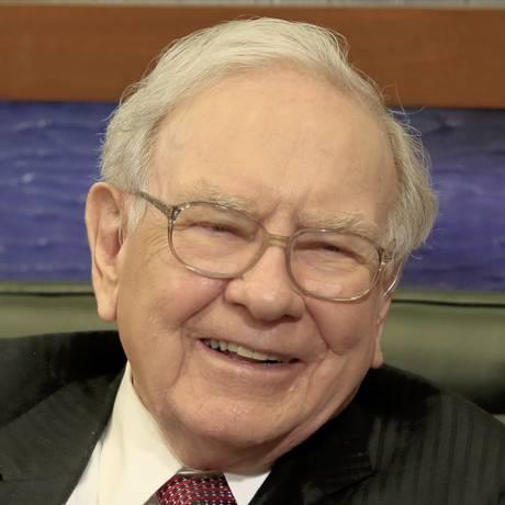 Buffett dá entrevista à Fox Business para falar sobre almoço milionário Foto: Nati Harnik / AP