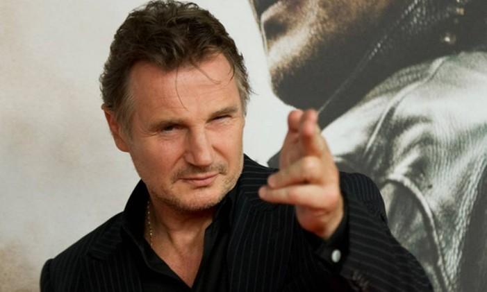 Liam Neeson, um charme aos 62 anos Foto: Steffi Loos / Photograph: Steffi Loos/AP