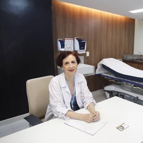 Especialista. A endocrinologista Helena Müller faz parte da equipe do Centro de Tratamento de Obesidade Foto: Agência O Globo / Eduardo Naddar