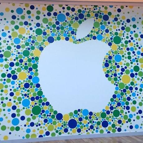 Loja da Apple no Brasil Foto: Divulgação / Divulgação