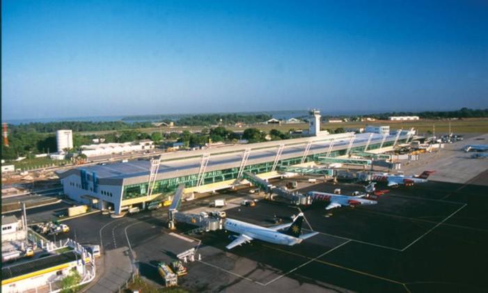 Aeroporto Internacional de Belém/Val-de-Cans - Júlio Cezar Ribeiro Foto: Divulgação / Infraero