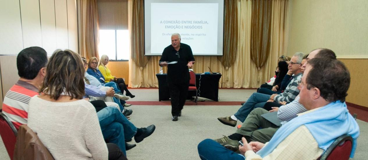 Reunião de empresários em Conselho de Presidentes Foto: Diogo Pagnoncelli / Divulgação